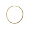 14Kt Two-tone Reversible Necklace (33.20gr)