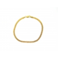 14Kt Yellow Gold Baby Panther Bracelet (4.70gr)