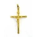 14Kt Yellow Gold Crucifix Pendant (1.20gr)