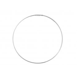 14Kt White Gold Slip On Bangle (1.90gr)