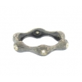 14Kt Black Gold Diamond Bamboo Ring (0.06cts tw)