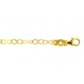 14Kt Yellow Gold Flat Diamond Cut & Corrugated Infinity Links