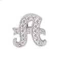 "14Kt White Gold Diamond Initial ""A"" Pendant (0.05cts tw)"