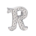 """14Kt White Gold Diamond Initial """"R"""" Pendant (0.07cts tw)"""