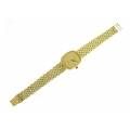 14Kt Yellow Gold Men's Geneve Watch with Panther Band
