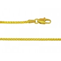 14Kt Yellow Gold 8-sided Box Chain 019