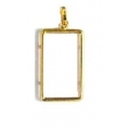 14Kt Yellow Gold 2.5 Gram Credit Suisse Frame